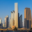 Постер, плакат: Dubai downtown East United Arab Emirates architecture