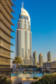 Address Hotel in the downtown Dubai area — Стоковое фото
