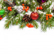 Christmas background. Eve framework — Foto de Stock