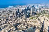 Dubai downtown. East, United Arab Emirates architecture. — Stock Photo