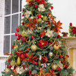 Стоковое фото: Christmas tree in modern interior living room