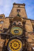 Astronomiska uret. prag. tjeckien — Stockfoto