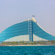 Dubai Jumeirah Beach Hotel — Stock Photo