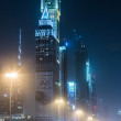 Dubai Dowtown at ngiht, United Arab Emirates — Lizenzfreies Foto