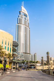 Address Hotel in the downtown Dubai area — Stok fotoğraf