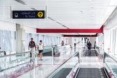 Automatic Stairs at Dubai Metro Station — Stok fotoğraf