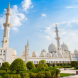 Sheikh Zayed Grand Mosque in Abu Dhabi — Stock Photo