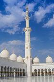 Abu Dhabi Sheikh Zayed White Mosque — Stock Photo