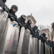 Protest on Euromaydan in Kiev against the president Yanukovych — Stock Photo