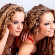 Two girls twins — Stock Photo #37415011