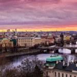 Bridges in Prague — Stock Photo #38699541