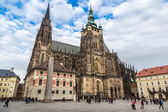 St. Vitus Cathedral — Foto de Stock