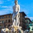 Stock Photo: Fountain of Neptune on Piazza della Signoria