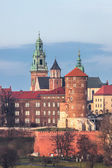 Wawel Cathedral complex — Stockfoto