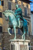 Statue of Cosimo I de Medici — Stock Photo