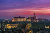 Wawel Castle and Wistula — Stock Photo
