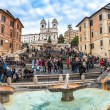 The Spanish Steps — Foto de Stock