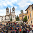 Foto Stock: The Spanish Steps