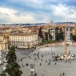 Piazza del Popolo — Stock Photo