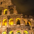 Stock Photo: Colosseum at night in Rome, Italy