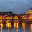 Vatican and river Tiber in Rome — Stock Photo #38902303