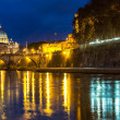 Vatican and river Tiber in Rome — Stock Photo #38902317