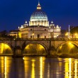 Vatican and river Tiber in Rome — Stock Photo #38902341