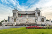 Monument to Victor Emmanuel II — Stock Photo