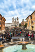 The Spanish Steps — Stock Photo