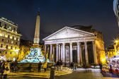 Pantheon at night — Stock Photo