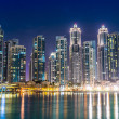 Stock Photo: Dubai downtown.