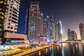 Dubai Marina cityscape — Stock Photo