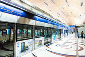 Dubai Metro Terminal — Stock Photo