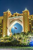 The Palm Hotel in Dubai — Стоковое фото