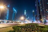 Dubai dowtown kolejowymi — Zdjęcie stockowe