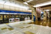 Dubai Metro Terminal in Dubai — Stock Photo