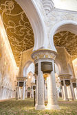 Abu Dhabi Sheikh Zayed Grand Mosque — Stock Photo
