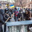 "Protest Against ""Dictatorship"" In Ukraine Turns Violent — Stock Photo #39175471"