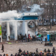 "Protest Against ""Dictatorship"" In Ukraine Turns Violent — Stock Photo #39175525"