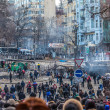 "Protest Against ""Dictatorship"" In Ukraine Turns Violent — Stock Photo #39175641"