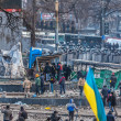 "Protest Against ""Dictatorship"" In Ukraine Turns Violent — Stock Photo #39175661"