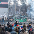 "Protest Against ""Dictatorship"" In Ukraine Turns Violent — Stock Photo #39175753"