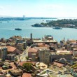 Istanbul panoramic view from Galata tower. Turkey — Stock Photo