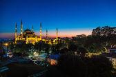 De blauwe moskee, istanbul, turkije — Stockfoto