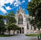 Vienna, Austria - famous Votivkirche ,Votive Church — Stock Photo