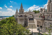Eurtopa, Hungary, Budapest, Fishermen's Bastion. — Stock Photo