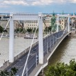 Stock Photo: Elisabeth Bridge, Budapest, frontal view