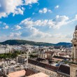 Aerial view at Budapest from the top of St Stephen Basilica Cathedral — Stock Photo #39702253