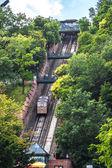 Funicular de budapest, hungría — Foto de Stock