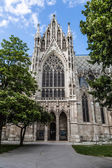 Vienna, Austria - famous Votivkirche ,Votive Church — Stock Photo